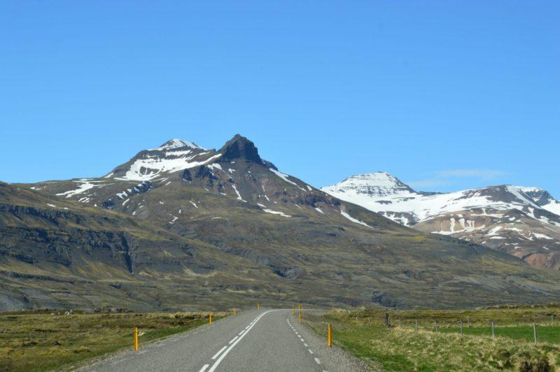 Breiðdalsvík, vegur