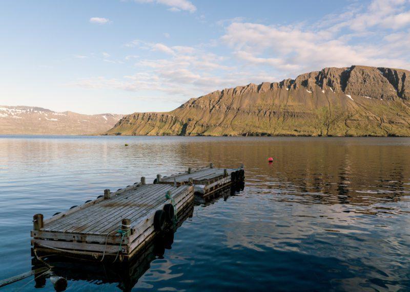 Bryggja á Norðfirði