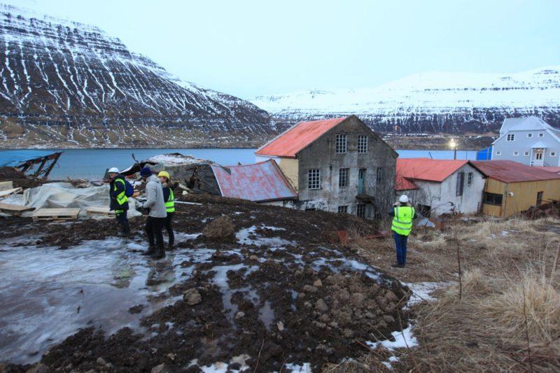 Seyðisfjörður skriða