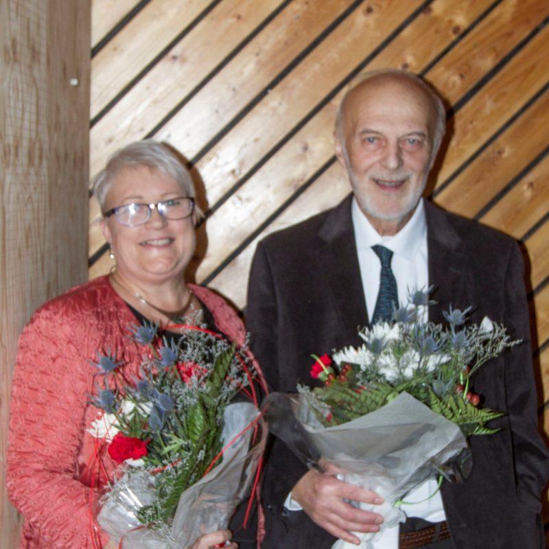 Jónas Hallgrímsson og Vigdís M. Sveinbjörnsdóttir