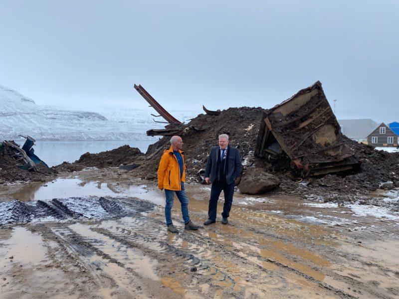 Ólafur Sigurðsson og Sigurður Ingi Jóhansson