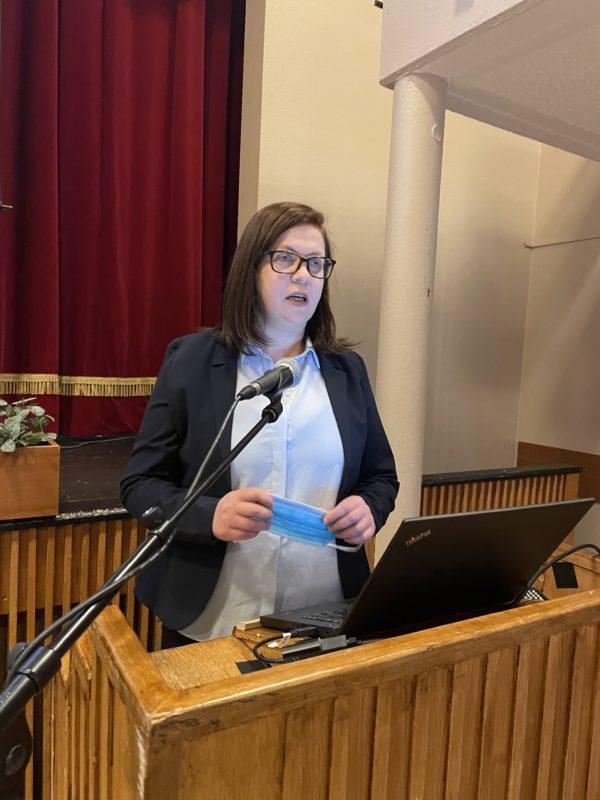Jóna Árný Þórðardóttir á ársfundi Austurbrúar 2021