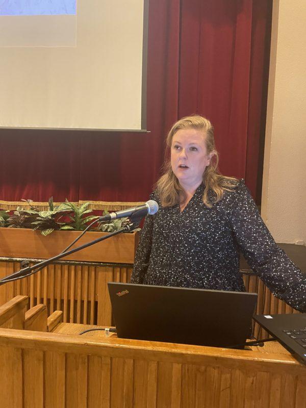 Sæunn Stefánsdóttir á ársfundi Austurbrúar 2021