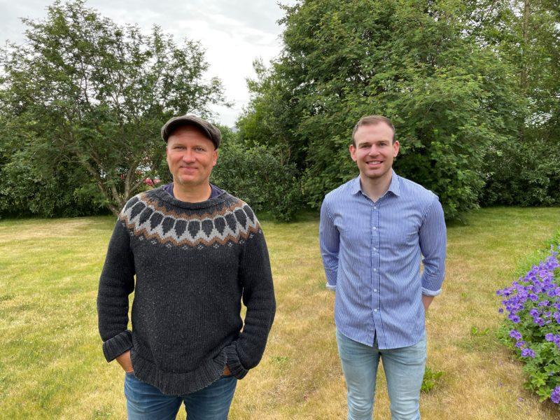 Bjarni Þór Haraldsson og Hafþór Eide.