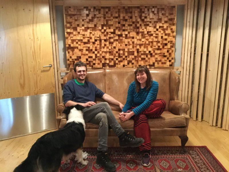 Vincent Wood og Una Sigurðardóttir