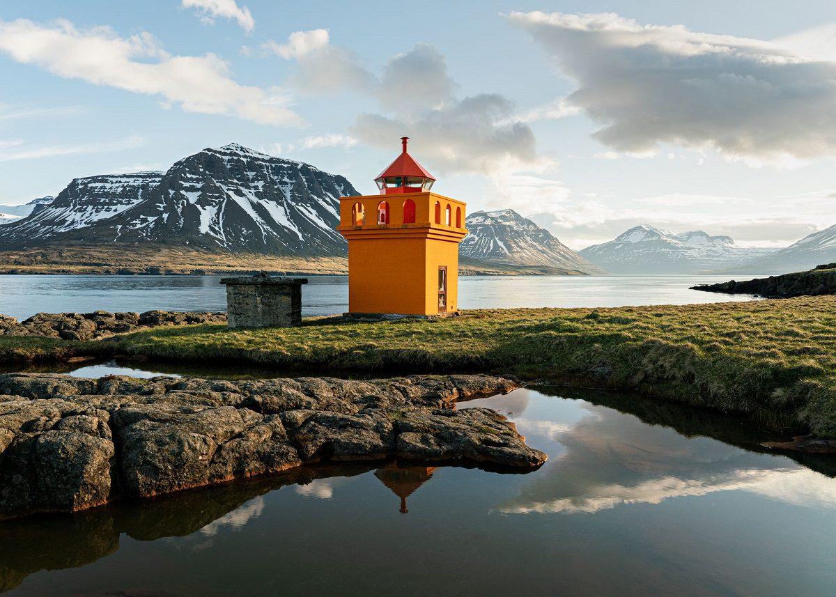 Viti Brimnes Seyðisfjörður. Ljósmynd Jessica Auer