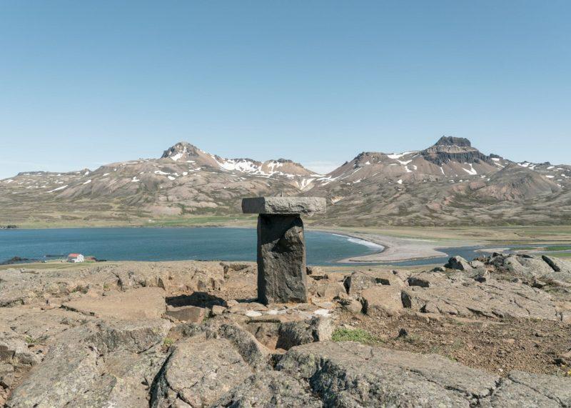 Borgarfjörður eystri útsýnisskífa