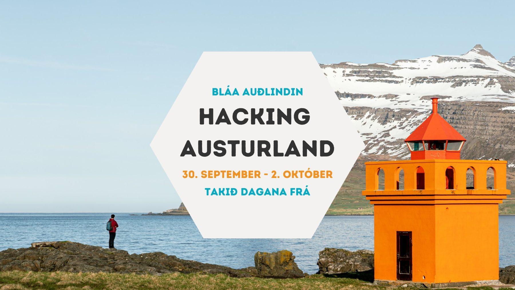 Hacking Austurland auglýsing